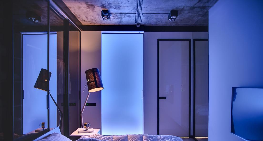 Современная, стильная спальня и ее вариации.